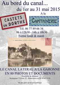 A CASTETS, LE CANAL LATERAL S'EXPOSE