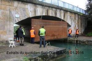 RENOVATION DU PONT CANAL D'AGEN (3)