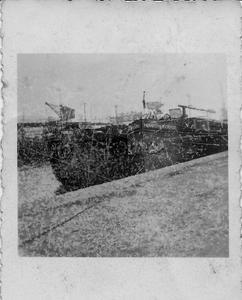 Frédéric et Pompon Rouge bord à bord