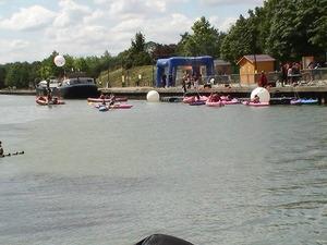 Canal de l'Ourcq en fête au parc de la bergère