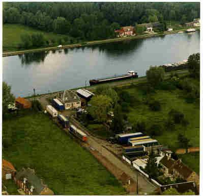 Sam Suffi il y a 11 ans au Bassin rond(vu d'avion)
