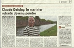 Marinier retrait� devenu peintre